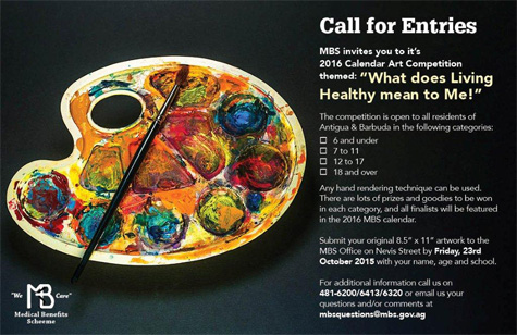 Call for entries: What does living healthy mean to Me!